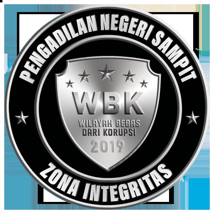 <center>WILAYAH BEBAS KORUPSI (WBK)<br>TAHUN 2019</center>